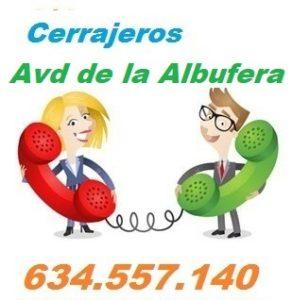 Telefono de la empresa cerrajeros Avenida de la Albufera